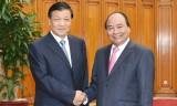 Thủ tướng tiếp Ủy viên Thường vụ Bộ Chính trị Trung Quốc