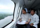Thủ tướng thị sát khu vực bị ảnh hưởng biến đổi khí hậu tại ĐBSCL