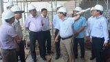 Chủ tịch UBND tỉnh Long An – Trần Văn Cần khảo sát một số công trình xây dựng