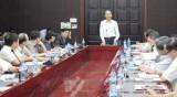 Bộ Y tế kiểm tra công tác chuẩn bị phục vụ APEC tại Đà Nẵng