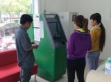 VPBank Long An đưa vào sử dụng máy nạp tiền tự động
