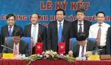 UBND tỉnh Long An ký kết hợp tác tuyên truyền với VOV