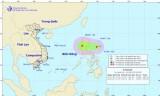Áp thấp nhiệt đới xuất hiện trên biển Đông, Bắc Bộ tiếp tục có mưa