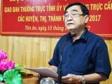 Phó Bí thư Thường trực Tỉnh ủy - Đỗ Hữu Lâm: Cần tập trung công tác xây dựng, chỉnh đốn Đảng