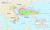 Áp thấp nhiệt đới xuất hiện gần Biển Đông, có thể mạnh lên thành bão