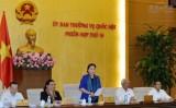Bế mạc phiên họp thứ 15 Ủy ban Thường vụ Quốc hội