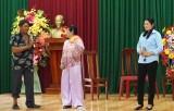 """Tân Thạnh: 130 hội viên nông dân tham gia Ngày hội tuyên truyền """"Nông dân với văn hóa giao thông"""""""
