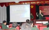 Tập huấn nghiệp vụ phát thanh truyền hình Quân đội phía Nam