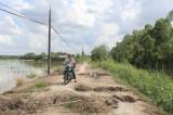 Tân Thạnh nhiều khó khăn trong xây dựng nông thôn mới