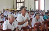 Thủ Thừa: Xây dựng và phát triển cánh đồng lớn - người dân là chủ thể trực tiếp