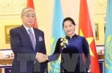 Chủ tịch Quốc hội Nguyễn Thị Kim Ngân kết thúc chuyến thăm Kazakhstan