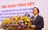 Bộ trưởng Phùng Xuân Nhạ: Tự chủ đại học vẫn còn nhiều bất cập