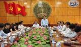 Đoàn công tác tỉnh Sơn La trao đổi, học tập kinh nghiệm tại Long An