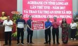 Agribank tài trợ 20 tỉ đồng xây dựng Trường THCS Bình Thành