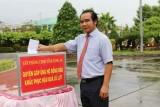 Văn phòng UBND tỉnh Long An quyên góp, ủng hộ đồng bào miền Trung khắc phục hậu quả lũ lụt