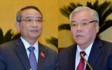 Quốc hội bắt đầu quy trình phê chuẩn miễn nhiệm 2 thành viên Chính phủ