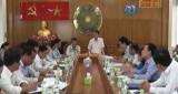 Bộ Nội vụ khảo sát khu vực dự kiến mở rộng thị trấn Cần Giuộc