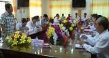Châu Thành: Ủy Ban Kiểm Tra Trung ương khảo sát tình hình thực hiện Nghị quyết TW 4