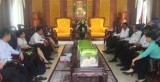 Bí thư Tỉnh ủy-Phạm Văn Rạnh tiếp, làm việc với Tập đoàn PAN