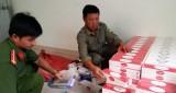 Tân An: Thu giữ 5.200 gói thuốc lá ngoại nhập lậu