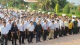 Đông đảo người dân dự Lễ giỗ Anh hùng dân tộc Nguyễn Trung Trực