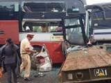 Xe khách Thành Bưởi chở gần 40 hành khách gặp nạn tại Bảo Lộc