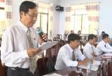 Đức Hòa: Đại biểu HĐND tập trung chất vấn vấn đề môi trường