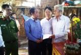 Thăm hỏi, hỗ trợ gia đình em Đào Thị Cẩm Tiên bị tai nạn giao thông