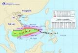 Bão số 12 giật cấp 11 cách bờ biển Khánh Hòa-Ninh Thuận 800km