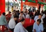 Ngày hội Đại đoàn kết toàn dân tộc ở khu phố 3, phường 1, TP. Tân An