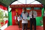 Ngày hội Đại đoàn kết ở khu phố 2, phường 2, thị xã Kiến Tường