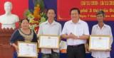 Đức Hòa: Bí thư Tỉnh ủy, Chủ tịch HĐND tỉnh Long An – Phạm Văn Rạnh dự Ngày hội Đại đoàn kết toàn dân tộc