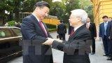 Tổng Bí thư Nguyễn Phú Trọng hội đàm với Tổng Bí thư Trung Quốc