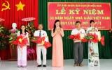 Các địa phương tổ chức Kỷ niệm Ngày Nhà giáo Việt Nam (20/11)