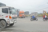 Phân luồng giao thông xe tải vào TP.Tân An