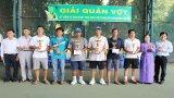 29 đội tham gia Giải Quần vợt ngành Giáo dục và Đào tạo Long An