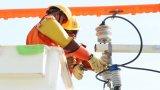 Công ty Điện lực Long An ra mắt Đội thi công sửa chữa lưới điện nóng