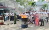 Tập huấn nghiệp vụ phòng cháy, chữa cháy