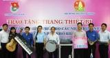 Hội đồng Đội Trung ương tặng thiết bị hỗ trợ các Nhà Thiếu nhi