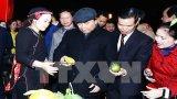 Thủ tướng tham quan Không gian văn hóa-du lịch tỉnh Hà Giang