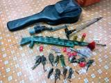 Cần Giuộc: Xử phạt hành chính 2 đối tượng dùng súng tự chế bắn chim
