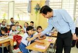 Cần Đước: Thường trực Huyện ủy kiểm tra cơ sở vật chất trường học