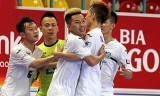 Thái Sơn Bắc giành vé vào VCK giải futsal cúp Quốc gia HDBank 2017