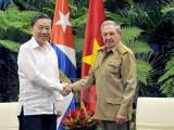 Việt Nam-Cuba chia sẻ kinh nghiệm bảo vệ an ninh chính trị nội bộ