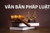 Tháng 12/2017: Một số văn bản quy phạm pháp luật có hiệu lực thi hành