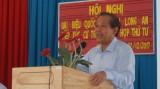 Phó Thủ tướng Chính phủ Trương Hòa Bình tiếp xúc cử tri tại Đức Huệ