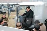 Thăm nhà máy lốp, ông Kim Jong-un ra tuyên bố về chương trình vũ khí