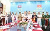 Hải quân Việt Nam - Campuchia làm tốt Quy chế phối hợp tuần tra chung