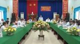 Phúc tra xã văn hóa Mỹ Lộc đạt 96 điểm