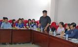 Sinh viên Đại học Văn Hiến tham quan, nghiên cứu thực tế tại Báo Long An